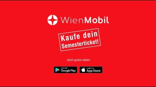 Kauf dir dein Semesterticket mit der WienMobil-App